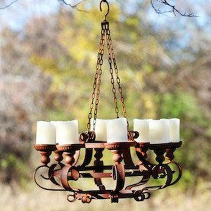 Fantastic Rustic Garden Light Landscaping Ideas 13