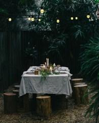 Fantastic Rustic Garden Light Landscaping Ideas 32