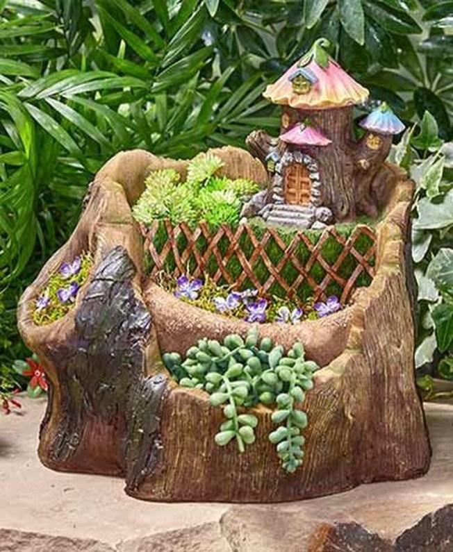 Fantastic Rustic Garden Light Landscaping Ideas 39