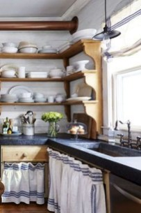 Gorgeous Rustic Country Style Kitchen Made By Wood 02