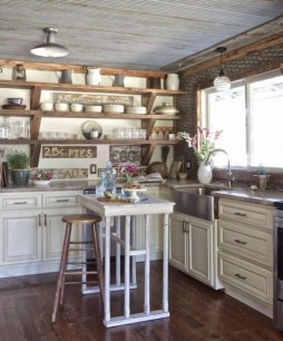 Gorgeous Rustic Country Style Kitchen Made By Wood 11