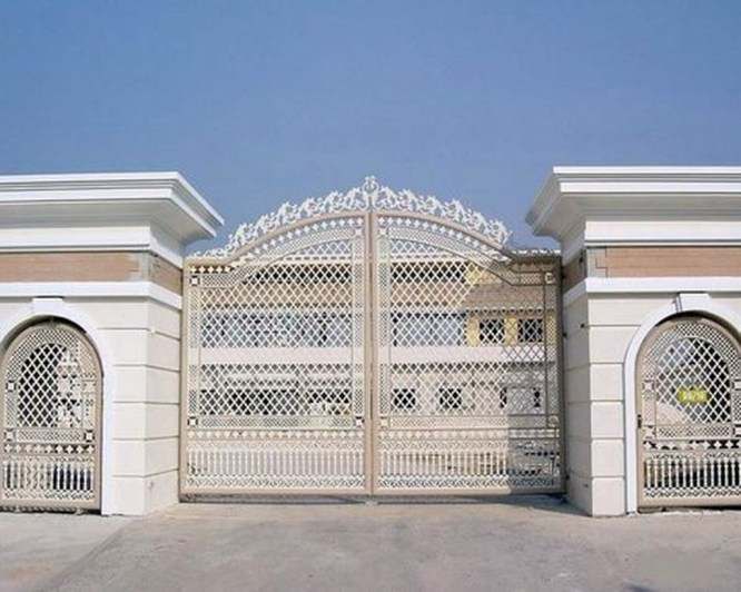 Inspiring Modern Home Gates Design Ideas 07