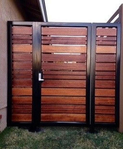 Inspiring Modern Home Gates Design Ideas 26