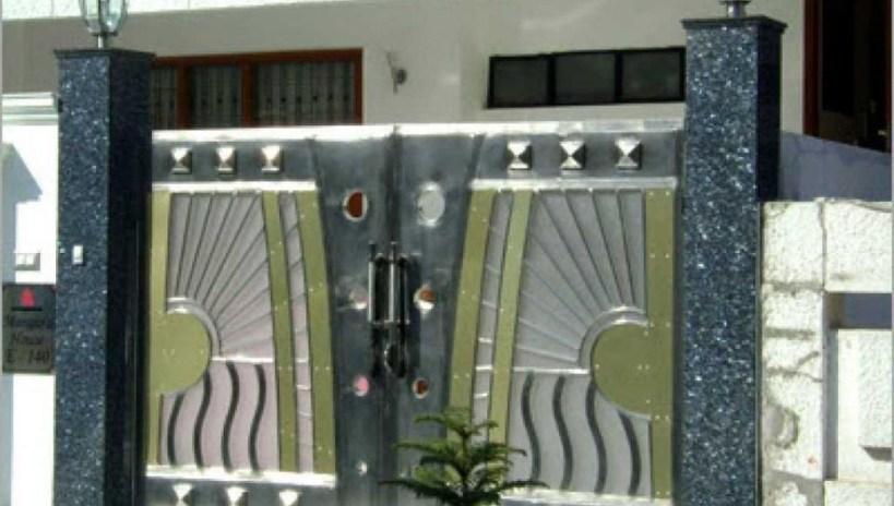 Inspiring Modern Home Gates Design Ideas 27