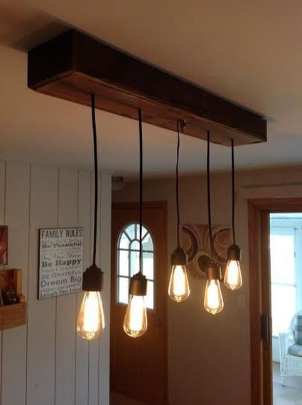 Inspiring Rustic Hanging Bulb Lighting Decor Ideas 46