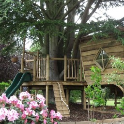 Inspiring Simple Diy Treehouse Kids Play Ideas 04