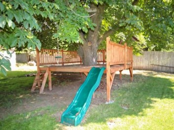 Inspiring Simple Diy Treehouse Kids Play Ideas 29