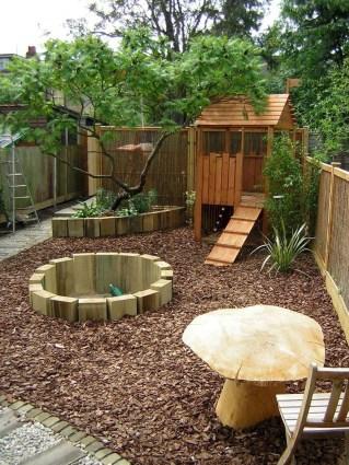 Inspiring Simple Diy Treehouse Kids Play Ideas 38