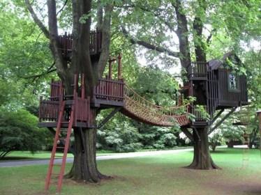 Inspiring Simple Diy Treehouse Kids Play Ideas 46