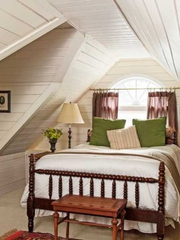 Lovely Traditional Attic Ideas 02
