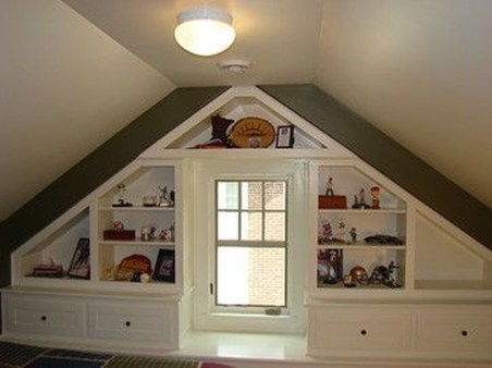 Lovely Traditional Attic Ideas 03