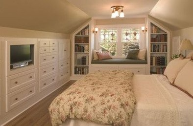 Lovely Traditional Attic Ideas 07