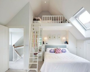 Lovely Traditional Attic Ideas 30