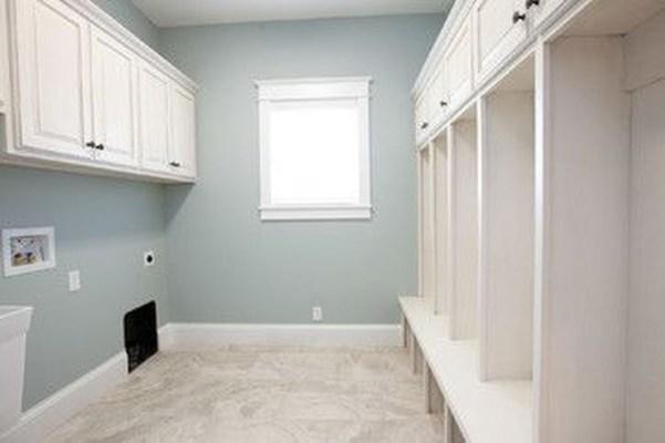 Modern Basement Remodel Laundry Room Ideas 06