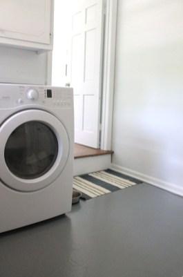 Modern Basement Remodel Laundry Room Ideas 07