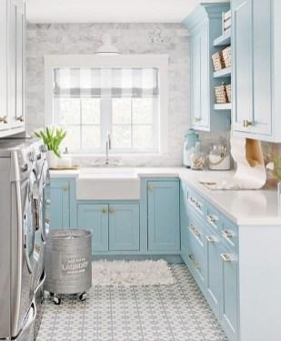 Modern Basement Remodel Laundry Room Ideas 40