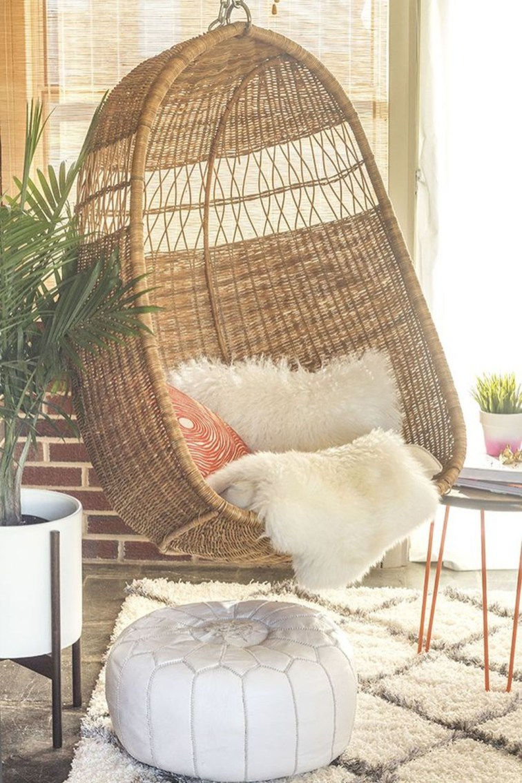 Modern Hanging Swing Chair Stand Indoor Decor 01