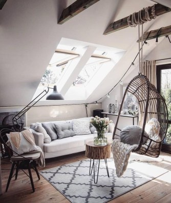 Modern Hanging Swing Chair Stand Indoor Decor 19