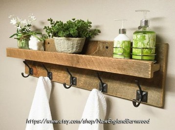 Rustic Country Bathroom Shelves Ideas Must Try 04
