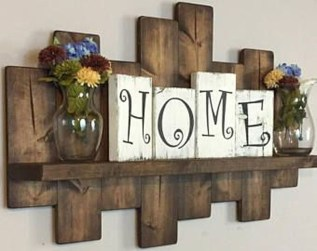 Rustic Country Bathroom Shelves Ideas Must Try 13