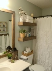 Rustic Country Bathroom Shelves Ideas Must Try 17