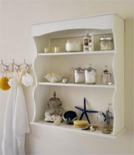 Rustic Country Bathroom Shelves Ideas Must Try 28