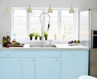 Dream Kitchen Brightened With A Pastel Color Palette 01