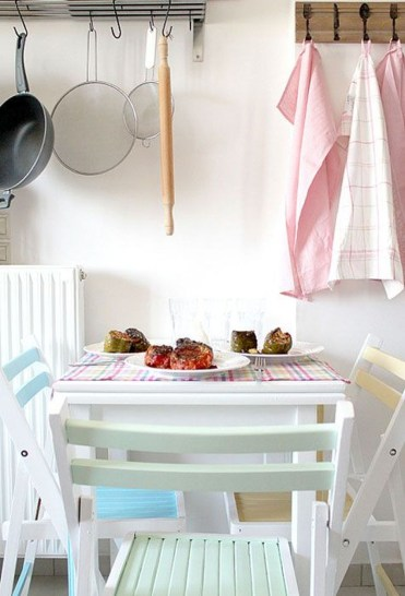 Dream Kitchen Brightened With A Pastel Color Palette 16