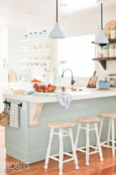Dream Kitchen Brightened With A Pastel Color Palette 22