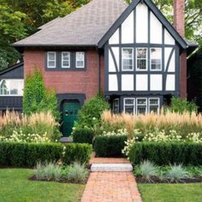 Amazing Evergreen Grasses Landscaping Ideas40