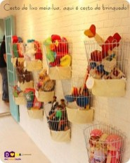 Amazing Hanging Kids Toys Storage Solutions Ideas02