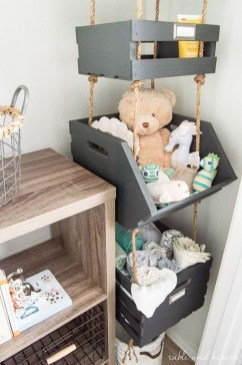 Amazing Hanging Kids Toys Storage Solutions Ideas22