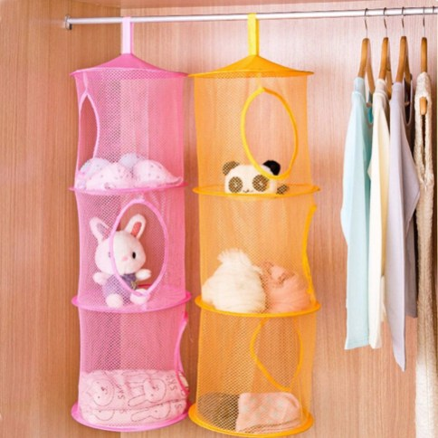 Amazing Hanging Kids Toys Storage Solutions Ideas34