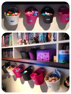 Amazing Hanging Kids Toys Storage Solutions Ideas41