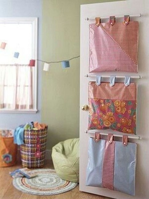 Amazing Hanging Kids Toys Storage Solutions Ideas46