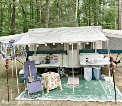 Amazing Rv Camper Trailer Pup Tent Must See06