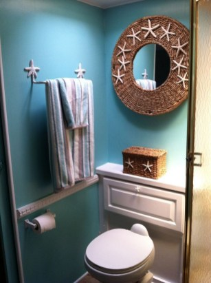 Amazing Small Rv Bathroom Toilet Remodel Ideas 20