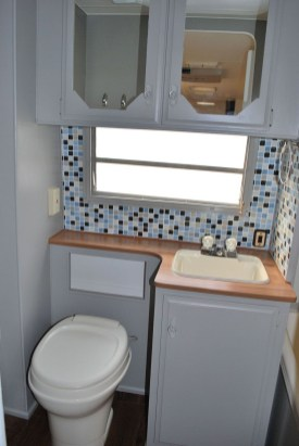 Amazing Small Rv Bathroom Toilet Remodel Ideas 22