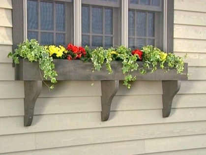 Amazing Windows Flower Boxes Design Ideas Must See37