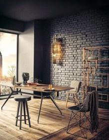 Artistic Vintage Brick Wall Design Home Interior19