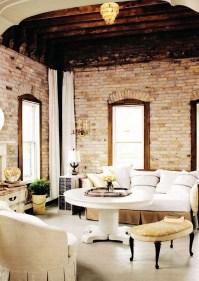 Artistic Vintage Brick Wall Design Home Interior20
