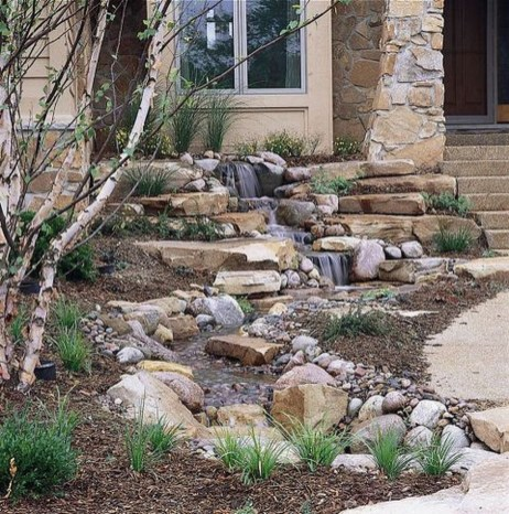 Awesome Small Waterfall Pond Landscaping Ideas Backyard01