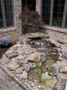 Awesome Small Waterfall Pond Landscaping Ideas Backyard16
