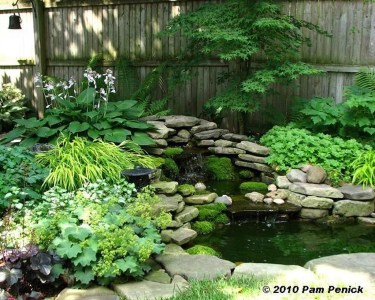 Awesome Small Waterfall Pond Landscaping Ideas Backyard22