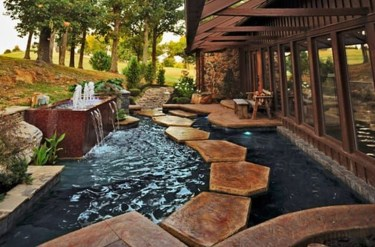 Awesome Small Waterfall Pond Landscaping Ideas Backyard23
