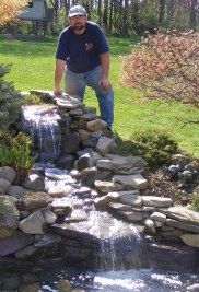 Awesome Small Waterfall Pond Landscaping Ideas Backyard27