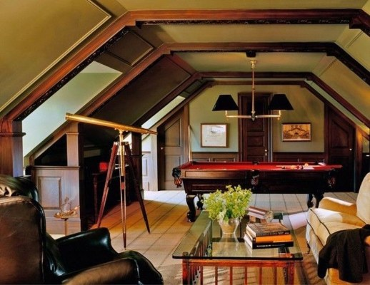 Awesome Traditional Attic You Can Try22