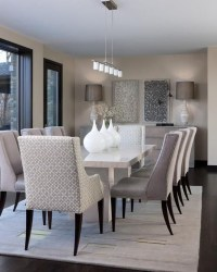 Elegant Dining Room Design Decorations01