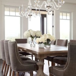 Elegant Dining Room Design Decorations02
