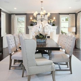 Elegant Dining Room Design Decorations15